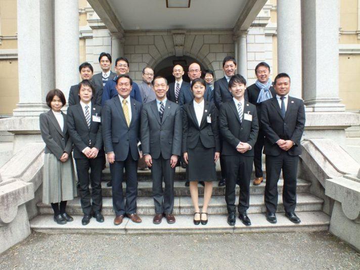 平成28年度4次隊 京都府庁表敬訪問